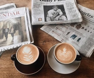coffee, inspiration, and drink image