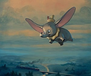 aesthetic, dumbo, and fond d'écran image