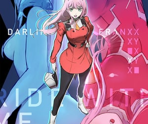 anime, darling in the franxx, and girl image