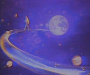 90s, aesthetics, and galaxy image