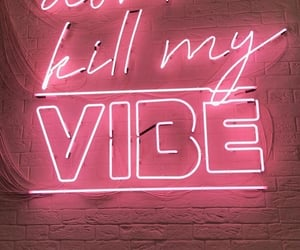 neon and wallpaper image