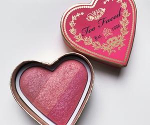 cosmetics, beauty, and blush image