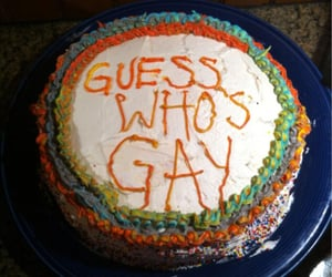 cake and gay image