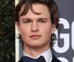 ansel elgort, 2020, and golden globes image