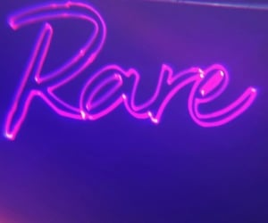 selena gomez, rare, and neon image