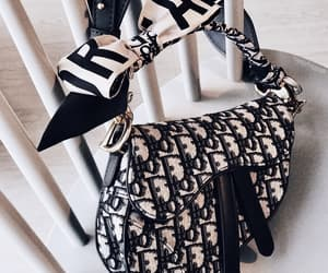 dior, fashion, and handbag image