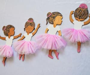 african american, dancing ballerina, and girls room decor image