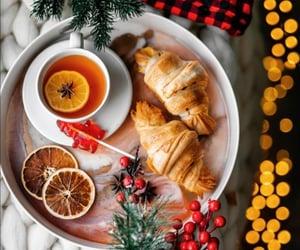 merry christmas, tea, and tea time image