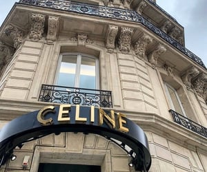 architecture, fashion, and celine image