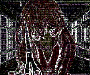anime, cyber, and cybercore image