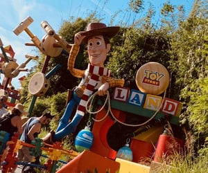disney, park, and woody image