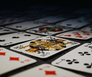 cards, deck of cards, and photography image