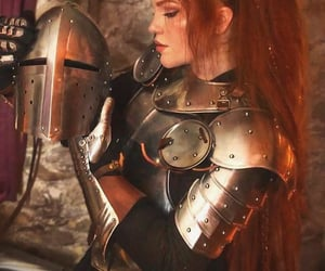 aesthetic, armor, and cosplay image