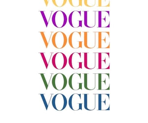 background, colorful, and vogue image