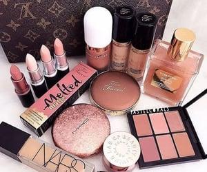 makeup, cosmetics, and lipstick image