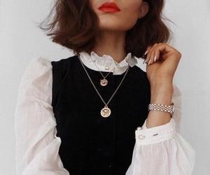 fashion, gold, and moda image