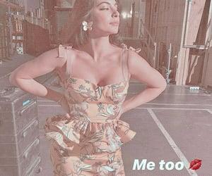 beautiful woman, dress, and latina image