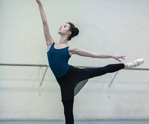 arabesque, backstage, and ballerina image
