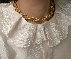 beauty, fashion, and gold image