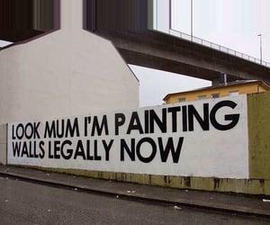 grunge, wall, and art image