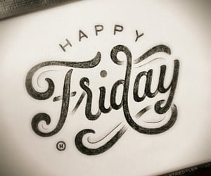 friday and happy image