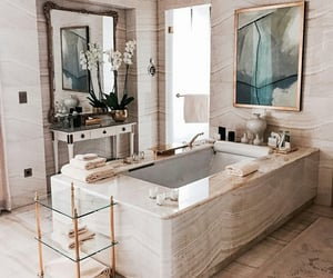 bathroom, glam, and home image