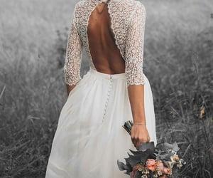 wedding, bride, and goals image