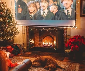 christmas, harry potter, and cozy image