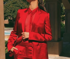 zendaya, red, and suit image