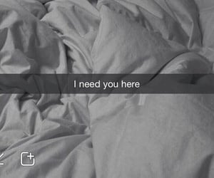 love, snapchat, and bed image