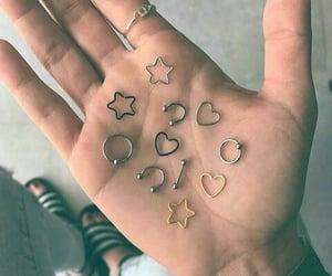 aesthetic, smiley piercing, and septum piercings image