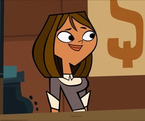 animation, courtney, and total drama island image