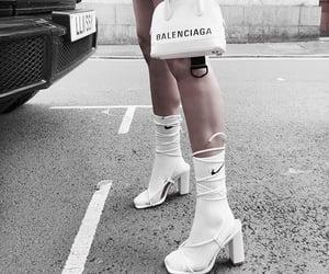 fashion, Balenciaga, and nike image