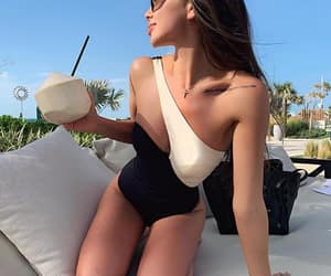 celine, coconut, and girl image