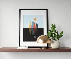 artwork, circle, and geometrical image