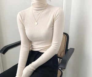 fashion, style, and turtleneck image