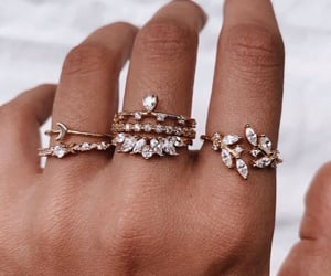 rings, fashion, and girly image