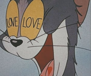 wallpaper, love, and cartoon image