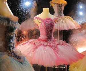 ballet, pink, and dress image
