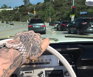 car and tattoo image