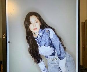 k-pop, 아이들, and shuhua image