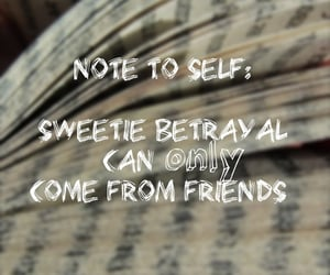 alone, betray, and book image