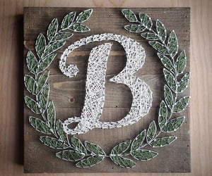 b, letters, and name image