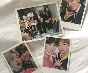 korean, kpop, and polaroids image