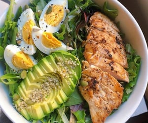avocado, fitness, and food image