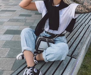 converse, fashion, and fashion blogger image