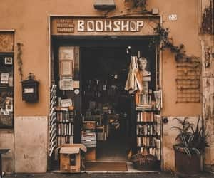aesthetic, books, and vintage image