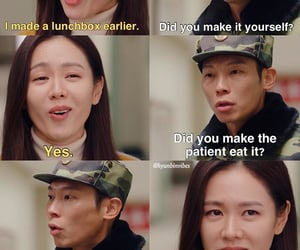 kdrama, son ye jin, and crash landing on you image