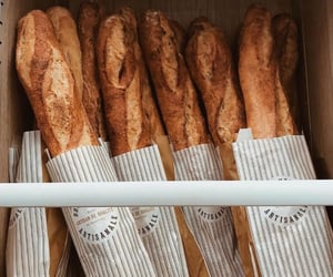 food, bread, and france image
