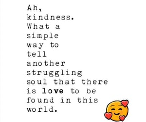 found, kindness, and quote image